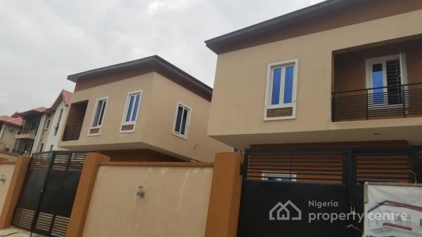 Brand New 4 Bedroom Detached Duplex with a Room Bq, Off Allen Avenue, Allen, Ikeja, Lagos, Detached Duplex for Sale