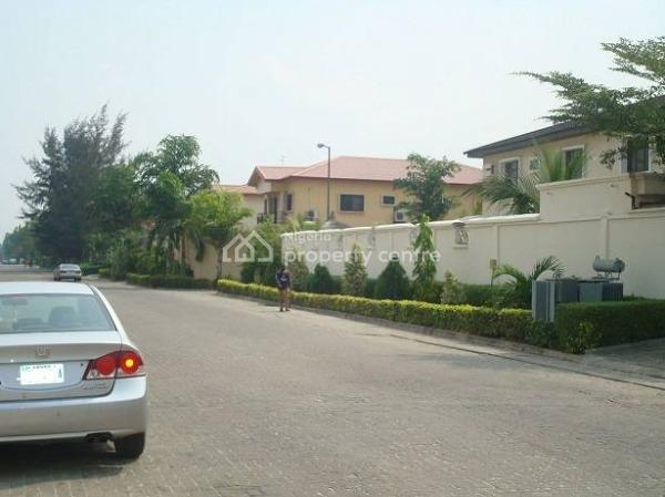 Fenced 3 Plots of Water Front Land  (1,800 Sqm), Off Road 2, Vgc, Lekki, Lagos, Residential Land for Sale