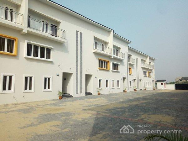 5 Bedroom Terraced Duplex, Orchid Hotel Road, Shortly After Chevy View Estate, Lekki, Lagos, Terraced Duplex for Sale