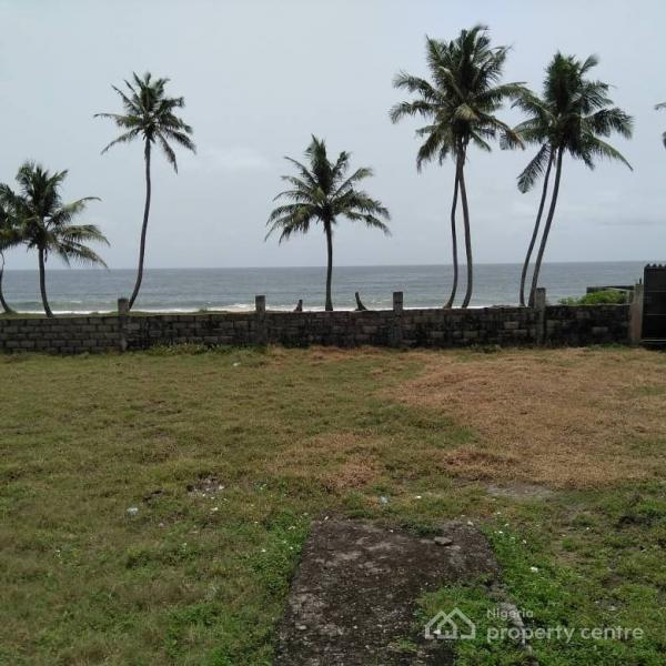 2185sqm Beach Front Land with Bungalow for Sale N38m, Abraham Adesanya Ajah, Abraham Adesanya Estate, Ajah, Lagos, Commercial Land for Sale