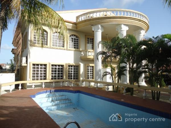Massive 7 Bedroom Duplex (mansion), Parkview, Ikoyi, Lagos, Detached Duplex for Sale