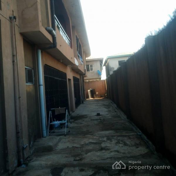 Solidly Built 3 Bedroom Block of 4 Flats, Off Liasu Road Council Bus Stop Idimu, Alimosho, Lagos, Block of Flats for Sale