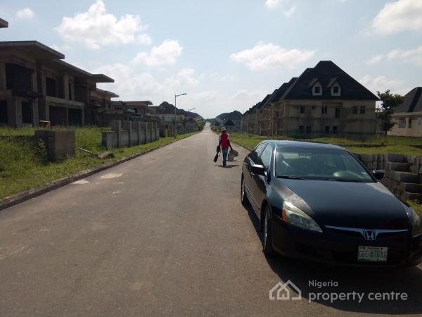 Carcass 5 Bedroom Duplex at Decking Level, Efab Metropolis, Karsana, Abuja, Detached Duplex for Sale