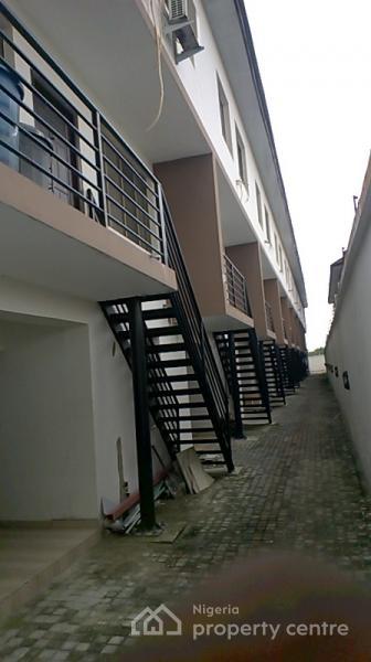 4 Bedroom with Bq, Terraced, Spar Road, Ikate Elegushi, Lekki, Lagos, Terraced Duplex for Rent