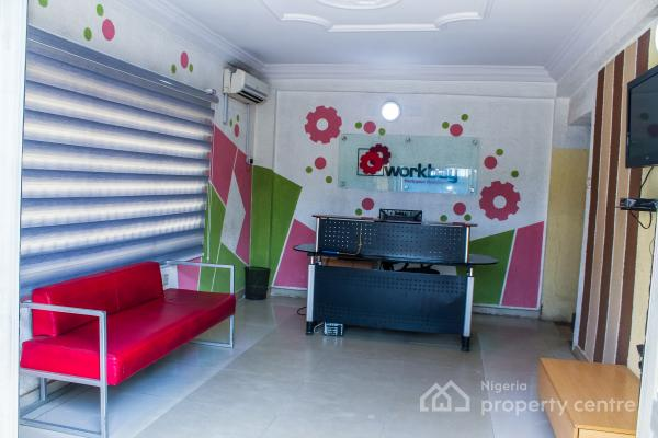 Serviced Office Space, 3/9, Olu Koleosho Street, Off Medical Road, Ikeja, Lagos, Office Space for Rent