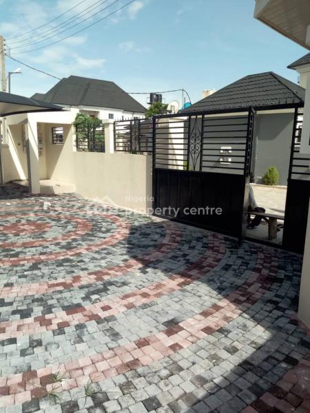 Brand New 5 Bedroom Duple with Bq, Self Compound, Before Sangotedo, Peninsula Garden Estate, Ajah, Lagos, Detached Duplex for Rent