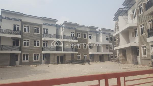 Advance Finished 4 Bedroom Terrace Duplexes with a Room Bq Attached., Off Aminu Jubril Road, Diplomatic Zones, Abuja, Terraced Duplex for Sale