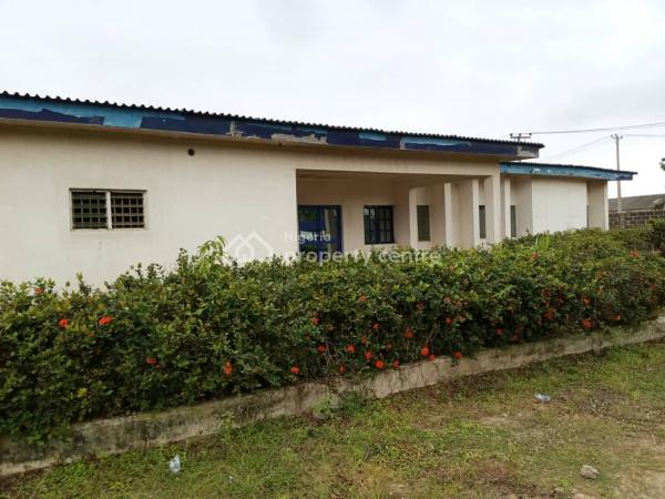 a Warehouse Measuring 8400sqft with 10 Rooms Office Bungalow on Large Ground, Abeokuta Road, Sango Ota, Ogun, Warehouse for Rent