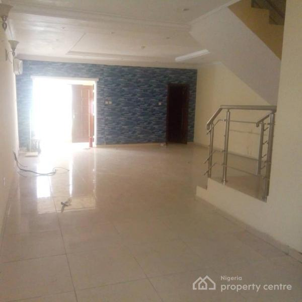 Well Maintained 4 Bedroom Terrace House with a Room Bq, Osapa, Lekki, Lagos, Terraced Duplex for Rent