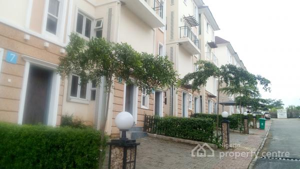 4 Bedroom Terraced Duplex, Brains and Hammers, Near Suncity Estate, Galadimawa, Abuja, Terraced Duplex for Sale