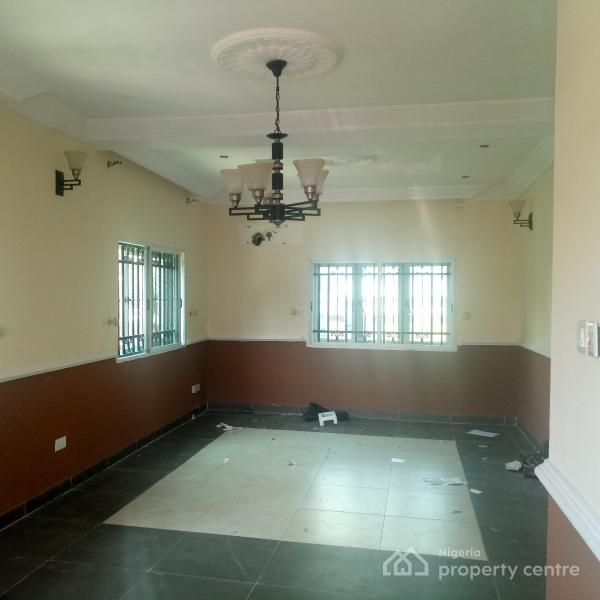 Lovely and Tastefully Well Finished 4 Bedroom Terrace with Bq and Fitted Kitchen, Close to Epe Expressway, Agungi, Lekki, Lagos, Terraced Duplex for Rent