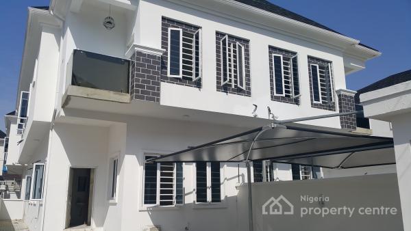 Tastefully Finished 4 Bedroom Semi-detached House with Bq, Chevron Alternative, Chevy View Estate, Lekki, Lagos, Semi-detached Duplex for Sale