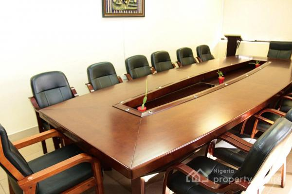 Conference Room, Lagos House, No. 76, Ralph Shodehinde Street, Behind Fed Min of Finance, Central Business District, Abuja, Office Space Short Let