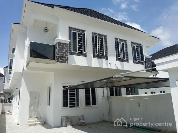 Beautiful New and Exquisitely Finished Duplex with Bq, Chevron, Lekki Expressway, Lekki, Lagos, Semi-detached Duplex for Sale