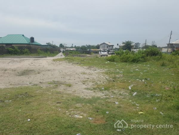 Distressed Plots, Fenced and Gated (10 Plots) of Land, Orchid Road By Chevron Drive, Lafiaji, Lekki, Lagos, Residential Land for Sale