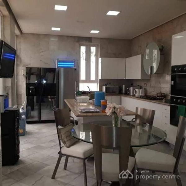 Waterfront 5 Bedroom Super Luxury Detached House with Bq, Swimming Pool, Jetty,elevator,garden, Fully Fitted, Kitchen, Acs Etc, Off 2nd Avenue, Banana Island, Ikoyi, Lagos, Detached Duplex for Sale