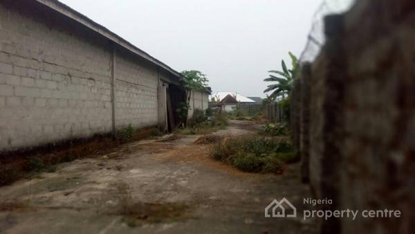 Massive Elaborated Warehouse, Igwurutali Obo Akpor, Omagwa, Port Harcourt, Rivers, Warehouse for Sale