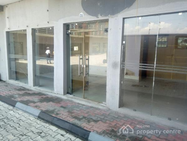 44sqm Shop/office Space with 2 Toilets in a Complex, Ado, Ajah, Lagos, Office Space for Rent