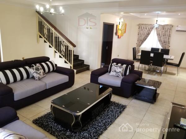 Tastefully Furnished 4-bedroom Duplex, Victoria Island (vi), Lagos, Terraced Duplex Short Let