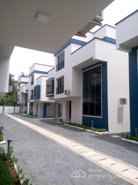 a Luxury and Executive 8unit of 4 Bedroom Detached Duplex, Bourdillon Street, Old Ikoyi, Ikoyi, Lagos, Detached Duplex for Sale