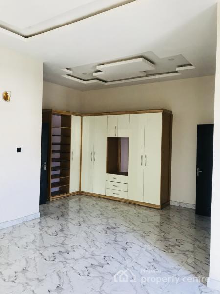 Sparkling 4 Bedroom Luxury Semi-detached Duplex with a Domestic Quarter, Behind Shoprite Circle Mall, Osapa, Lekki, Lagos, Semi-detached Duplex for Sale