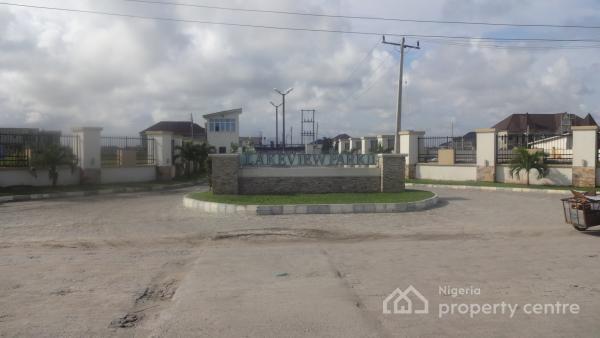 Global Certificate of Occupancy: 400sqm, Lake View Estate, Lafiaji, Lekki, Lagos, Residential Land for Sale