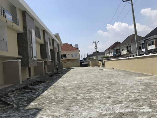5 Bedroom  Terraced  Duplex with Bq, Chevy View Estate, Lekki, Lagos, Terraced Duplex for Sale