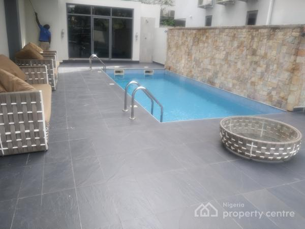 Luxury Finished Serviced 3 Bedroom Terrace House  with 1 Room Boys Quarters, Off Alexander Road, Old Ikoyi, Ikoyi, Lagos, Terraced Duplex for Rent