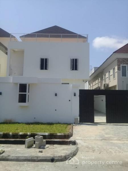 an Exquisite Newly Built 5 Bedroom Fully Detached Duplex with Swimming Pool and a Room Bq Sitting on 420sqm Land, Lekki Phase 1, Lekki, Lagos, Detached Duplex for Sale