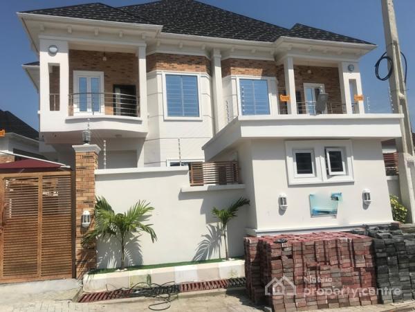 4 Bedroom Duplex with Bq, Chevron, Lekki, Lagos, Semi-detached Duplex for Rent