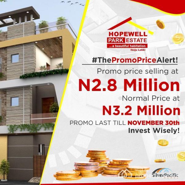 Hopewell Park Estate, Lapekun, Ibeju Lekki, Lagos, Residential Land for Sale