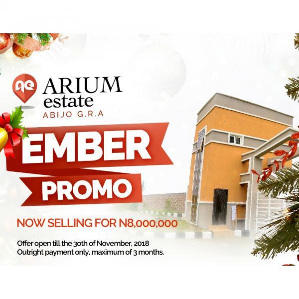 Ember Promo:  Arium Estate with C of O, Sangotedo, Ajah, Lagos, Residential Land for Sale