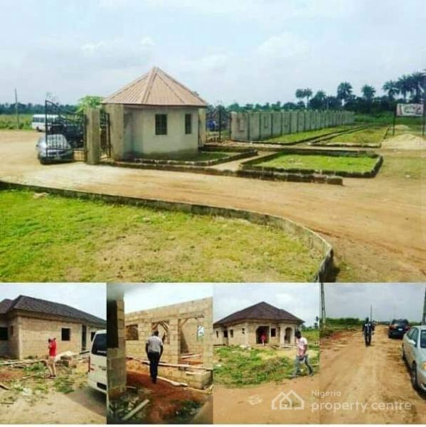 Affordable Landed Property with C of O in Process., Havilah Park and Gardens, Fifteen Minutes Drive From Redemption Camp and Also Close to Redeemers University, Nestle Foods and International Breweries., Mowe Ofada, Ogun, Mixed-use Land for Sale