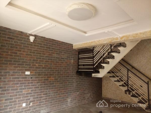 Close-to-expressway & Beautiful 3 Bedroom Terrace Duplex with Bq, Osapa, Lekki, Lagos, Terraced Duplex for Rent