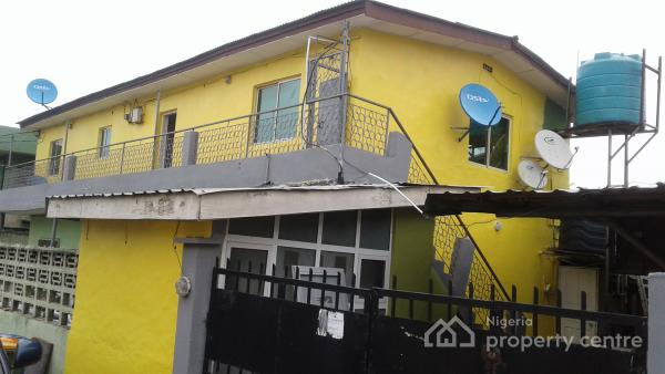 Furnished Selfcon Rooms - Available, Baba Yusuf Close, Off Makinde Street, Alausa, Ikeja, Lagos, Self Contained (single Rooms) Short Let