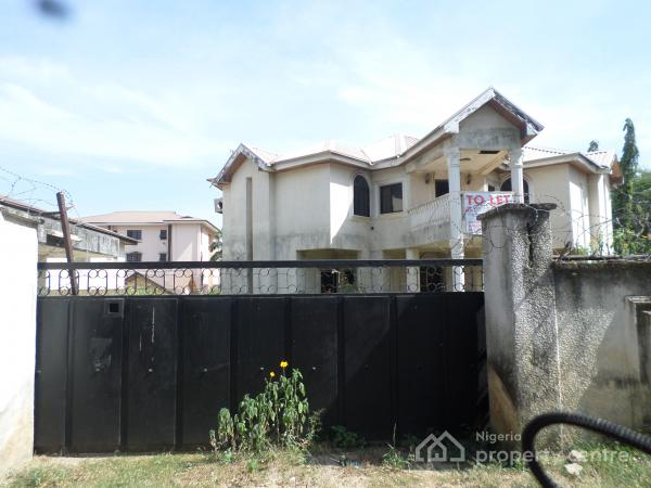 Needs Remodeling; 5 Bedroom, Guest Chalet+ Bq, Wuse, Abuja, Detached Duplex for Rent