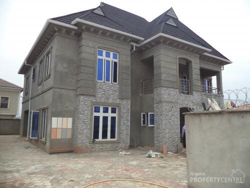 For sale 4 bedroom duplex at alexander estate oko oba for 4 bedroom duplex designs in nigeria