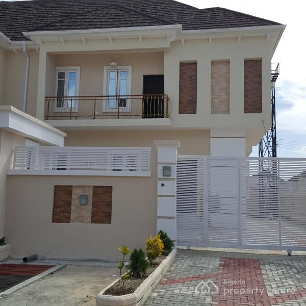 Distress 4 Bedroom Semi-detached Duplex, Chevy View Estate, Lekki, Lagos, Semi-detached Duplex for Sale