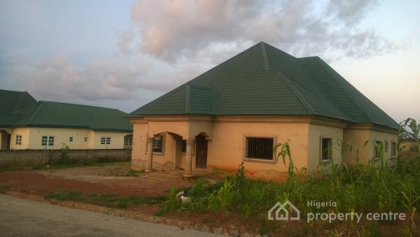 4 Bedroom Bungalow, Army Scheme Estate, Kurudu, Abuja, Detached Bungalow for Sale