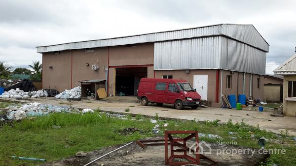 a Functional Water and Alcoholic Beverage Factory on a Two Plot of Land Measuring 120x120, Checking Point, Badagry Expressway, Badagry, Lagos, Factory for Sale