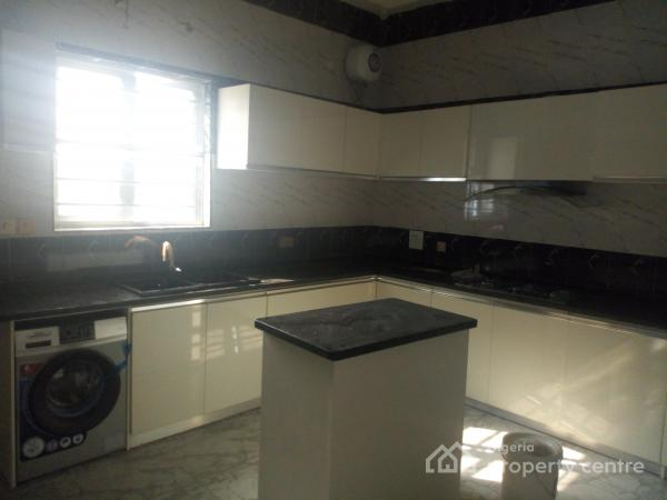 Newly Built Luxury 4 Bedroom Semi Detached Duplex and 1 Bq in a Gated Mini Estate, Chevron Drive, Lekki Phase 2, Lekki, Lagos, Semi-detached Duplex for Rent