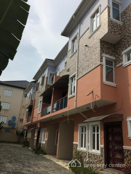 2 Bedroom Flat, Eletu Estate, Osapa, Lekki, Lagos, Terraced Duplex for Sale