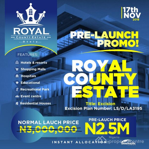Royal County Estate, Folu Ise, Ibeju Lekki, Lagos, Mixed-use Land for Sale