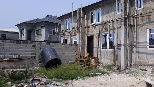 Brand New Two (2) Bedroom Terrace Duplex (self Compound), Harmony Estate, Lamgbasa, Ajah, Lagos, Terraced Duplex for Sale