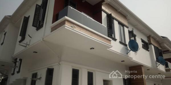 Super Classy Brand New 4 Bedroom Semi Detached Duplex with Governors Consent, 24hrs Power Supply & Affordable Service Charge, Chevron Axis, Lekki, Lagos, Semi-detached Duplex for Sale