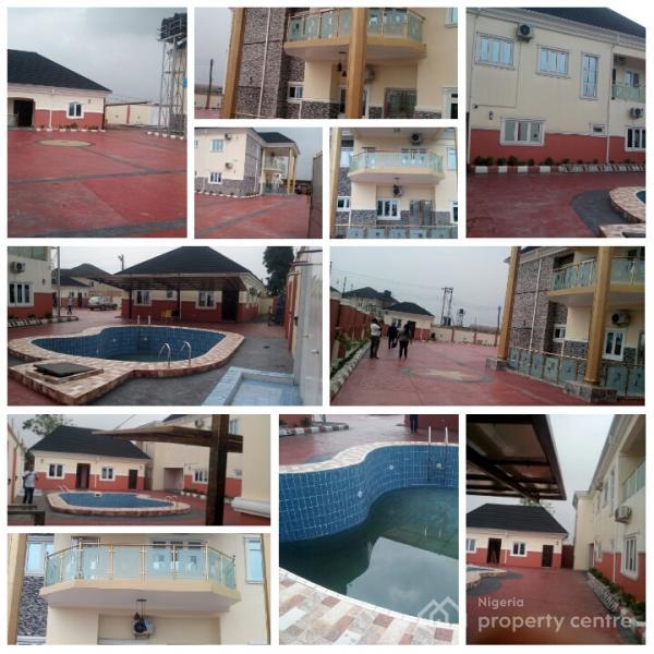 American Standard 5bedroom Duplex, Naf Harmony Estate, Eliozu, Port Harcourt, Rivers, Detached Duplex for Sale