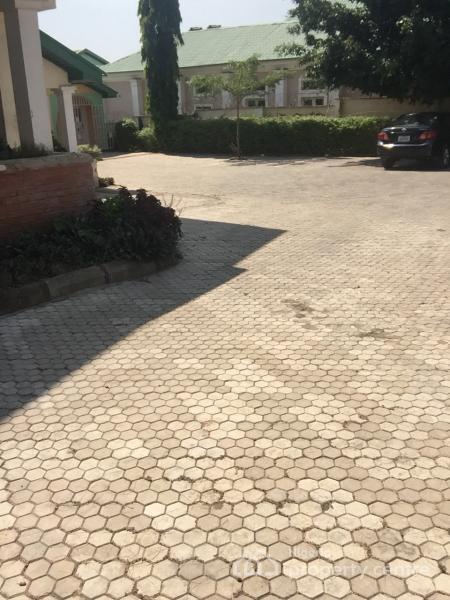 1 Bedroom Flat with Two Bathrooms and Toilets. P.o.p and  Well Tiled Floor and Spacious Car Park, Sitec, Along 6th Avenue Road, Gwarinpa Estate, Gwarinpa, Abuja, Mini Flat for Rent