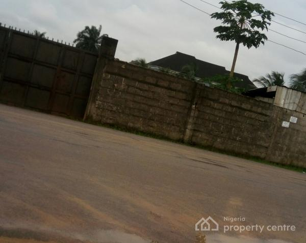 2 Plots of Land, Fenced with Gate @woji Estate Port Harcourt, Woji Estate, Port Harcourt, Woji, Port Harcourt, Rivers, Mixed-use Land for Sale