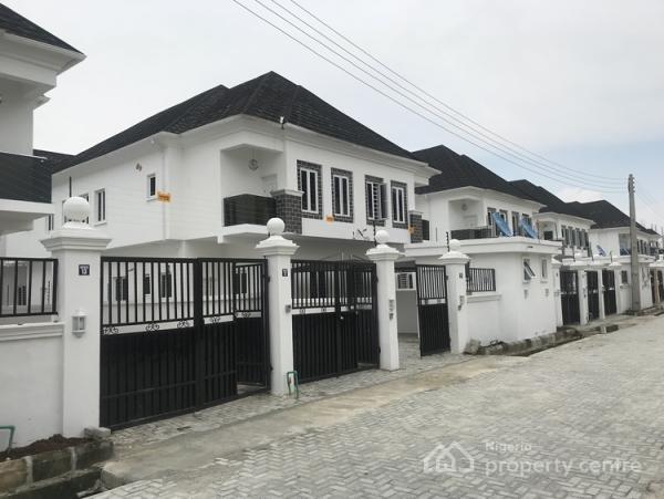 4 Bedroom  Duplex with Bq, Chevron, Lekki, Lagos, Semi-detached Duplex for Sale