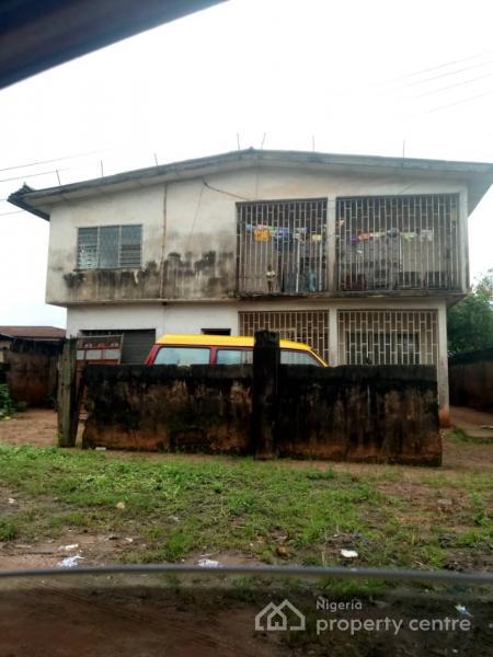 2 Story Building of 4 Bedroom Flat and Mini Flat Bq, No 1, Orekha Street, Off Uwelu Road, By Church of God Mission Junction, Benin, Oredo, Edo, Block of Flats for Sale
